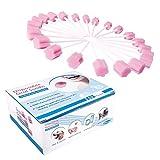 50er Pack Oral Mundpflege Schwamm Dental Tupfer Mundpflegestäbchen Wattestäbchen Mundhygiene