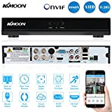 KKmoon 4-kanaals Digital Video Recorder 960H Network  H.264 DVR HDMI Cellphone View Bewegingsdetectie