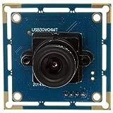 ELP VGA USB-Kamera-Modul mit einer Auflösung von 640x480 für Pc Webcam Android / linux / Mac / Windows Etc. (2.1mm Objektiv)
