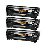 3 Toner für Canon FX10 Fax Faxphone L 100 120 I-Sensys FAX L I-Sensys MF 4000 4100 4300 4600 Series PC-D 440 450 - 0263B002 - Schwarz je 4.000 Seiten