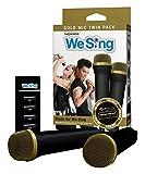 We Sing Mikrofon Bundle gold (2er Pack) + USB Hub