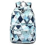 MMMMM Rucksack Schulbuchtasche für Mädchen im Teenageralter Jungen Secondary/College Schultasche Wasserdicht Kids Teens Großer Reiserucksack,1