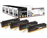 4 Original Reton Toner, kompatibel, nach ( ISO-Norm 19798 ) ersetzt Canon 731H für Canon LBP 7100CN Canon LBP 7110CW Canon i-Sensys MF8200 Canon i-Sensys MF8280 6273B002 6271B002 6270B002 6269B002