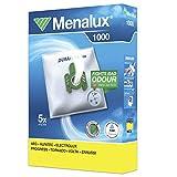 Menalux 1000, 5 Staubbeutel Duraflow Synthetik, 1 Mikrofilter, Original Markenware