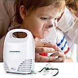 Hangsun Inhalator Kinder Elektrisch CN560 Inhalationsgeräte Vernebler Baby und Erwachsene Aerosol Therapie mit Umfangreiches Zubehör, Zertifiziertes Medizinprodukt