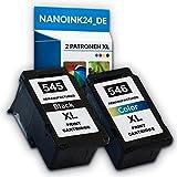 CANON PG545 XL + CL 546 XL Tintenpatronen Kompatible Pixma MG2450 MG2400 MG2950 MG2900 bei Nano