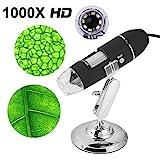 USB Digitales Mikroskop Kamera Microscope 1000 x Vergrößerung Magnification mit 8-LEDs für...