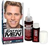 Just for Men - H25 - Haarfärbemittel, Pflege Tönungs Shampoo, Hellbraun