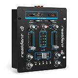 resident dj DJ-25 • DJ-Mixer • 2-Kanal Mischpult • DJ-Mischpult • USB-Port • MP3-fähig...