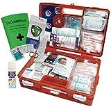 Sport-Sanitätskoffer S2 PLUS Erste-Hilfe Koffer nach DIN 13157 + DIN 13164 + Sport-Ausstattung INKL. Sprühpflaster