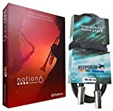 Presonus Notion 6 Notations-Software + KEEPDRUM MIDI-Kabel 2m