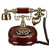 Festnetztelefon/Europäisches Haus Retro Telefon/Altmodisches Antikes Telefon/Hölzernes...