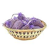 pajoma Duftsäckchen Lavendel, 10er Pack, Organzabeutel, Höhe 9cm