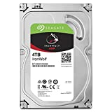 Seagate IronWolf ST4000VN008 4 TB Interne Festplatte (8,9 cm (3,5 Zoll), 64 MB Cache, 5900 RPM, SATA 6Gb/s) silber