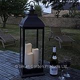 Smart Garden GIANT creme batteriebetrieben Laterne mit 3Kerzen in kupfer oder Creme (Bronze)