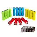 EverBrite 16-tlg. Mini Taschenlampe Handlampe Schlüsselanhänger 3 AAA Batterien inklusive für Camping, Radfahren, Klettern und andere Outdoor-Aktivitäten