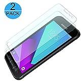 [2 Stück] FIGEMN Panzerglas Displayschutzfolie für Samsung Galaxy Xcover 4, 9H Härtegrad, 2.5D...