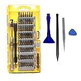 TedGem Schraubendreher Set, mit 56 Bits Magnetische Schraubendreher Satz Werkzeugset, 64 in 1 Magnet Austauschbar Magnetverschluss Hardware Werkzeugset, für Handy, Tablet, PC, Macbook, Uhr etc