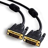 CSL - 2m DVI zu DVI Kabel | Dual Link 24+1 | vergoldete Kontakte | HDTV Auflösungen bis 2560x1600 |...