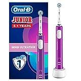 Oral-B Junior Wiederaufladbare Elektrische Zahnbürste, für Kinder Ab 6Jahren, lila
