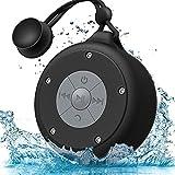AOOE tragbare Bluetooth Lautsprecher wasserdicht Dusche Lautsprecher 5W Außenlautsprecher mit...