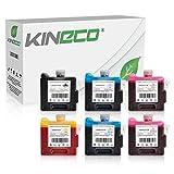 6 Kineco Tintenpatronen kompatibel zu Canon BCI-1411 für Canon BJ-W7200 BJ-W8200D W8400