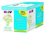 HiPP Babysanft Feuchttücher Ultra Sensitiv, 12er Pack (12 x 52 Stück)