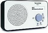 TechniSat VIOLA 2 Digital-Radio (klein, tragbar) mit Lautsprecher, UKW, DAB+, zweizeiligem...