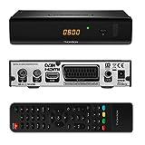 THOMSON THC301 HD Receiver für digitales Kabelfernsehen DVB-C Full HD (HDTV, HDMI, SCART, USB,...