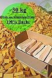 30 kg Brennholz 100% Buche Kaminholz Feuerholz ofenfertig kammergetrocknet 25 - 30 cm