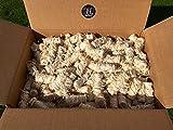 5kg BBQKontor Premium Anzünder aus Holzwolle & Wachs - Grillanzünder Kaminanzünder Ofenanzünder Brennholzanzünder Kaminholzanzünder Holzanzünder Anzündkamin Grill Grillkohle Holzkohle Briketts