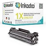 Inkadoo Toner kompatibel für Canon Sensys MF 237w, MF 232w, MF 231 einsetzbar für Canon 737 / 07420 / 9435B002 Schwarz, 2.400 Seiten