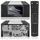 Xtrend ET 8500 HD Receiver PVR Ready mit Festplatte Schacht LCD Display 1 x DVB-S2 Sat Tuner & 1 x DVB- C Kabel Tuner mit Anadol HDMI Kabel