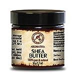 Shea butter / Sheabutter 100 % rein und natürlich, raffiniert Karité Body Butter 100 ml, Körperbutter, für Schönheit / Aromatherapie / Massage / Wellness / Kosmetik / Körperpflege von AROMATIKA