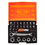 Bahco - 2058/S26 Ratchet Sockel Bit Set 26-Piece - BAH2058S26