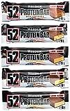 Weider 52% Protein Bar (24x 50g Box), Mix-Box (5 Geschmacksrichtungen), 1er Pack, (1 x 1.2kg)