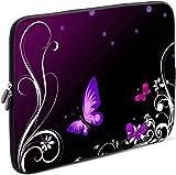 SIDORENKO Tablet PC Tasche für 10 - 10.1 Zoll | Universal Tablet Schutzhülle | Hülle Sleeve Case Etui aus Neopren, Violett