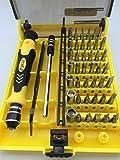 45 in 1 Precision Torx Screwdriver Cell Phone Repair Tool Set Tweezer Mobile Kit ¡