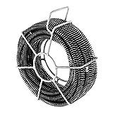 MSW - Rohrreinigungsspiralen Set 6 x 2,45 m / Ø 16 mm - MSW-CABLE SET 1 - für Röhre Ø 30 - 100 mm