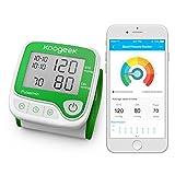 Koogeek Smart & Bluetooth Elektronische Handgelenk Blutdruck Digital Heart Beat & Pulse Gesundheit LCD Bildschirm Monitor mit Sprachansagen