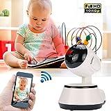 Cewaal V380 1080P wifi Netzwerk Wireless Kamera Baby Guard Mobile Überwachungskamera, Home Security IP Kamera Infrarot Nachtsicht 32 Fuß Alarm Aufnahme