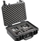 Mantona Outdoor Foto Schutz-Koffer M (geeignet für DSLR Kamera, GoPro Actioncam, Foto-Equipment...
