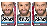 Just For Men Brush in Color Gelformel Bart Und Schnurrbart, mittelbraun, 3er Pack, (3 x 28.4 g)