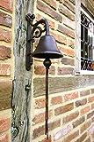 Antikas - Glocke -schöne Gartenglocke, apart an der Haustür wie antik und mit tollem Klang