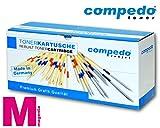 Compedo Premium Toner magenta/rot (7.300 Seiten) ersetzt Canon Nr. 034 (9452B001) für Canon i-SENSYS MF 810Cdn, 820Cdn, Canon iR-C 1225, 1225iF, Canon Imagerunner C 1225, 1225iF u. a.