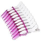 Anself 10ST Kunststoff Abteilklammern Frisur Schneiden Clamp Hair Styling Hair Clip