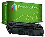 PRINTING PLEASURE Toner kompatibel für HP Laserjet 1160 1320 3390 3392 P2015 P2014 P2013 P2012 P2010 M2727 Canon LBP-3300 LBP-3310 LBP-3360 LBP-3370 / Q5949A 49A / Q7553A 53A / CRG 715 / CRG 708 Schwarz / Black