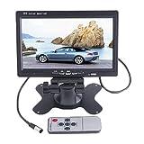 BW 17,8cm Hohe Auflösung 800* 480TFT Farbe LCD Auto Rear View Kamera Monitor Unterstützung Drehen des Bildschirm und 2Av-Eingänge