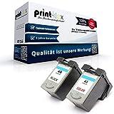 Kompatibles Tintenpatronen Sparset für Canon PG 40 + CL 41 Pixma MP170 MP180 MP190 MP210 MP220 MP450 MP450X MP460 MX300 MX310