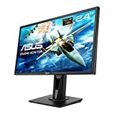 Asus VG245H 61 cm (24 Zoll) Monitor (Full HD, VGA, HDMI, 1ms Reaktionszeit, Gaming, FreeSync)...